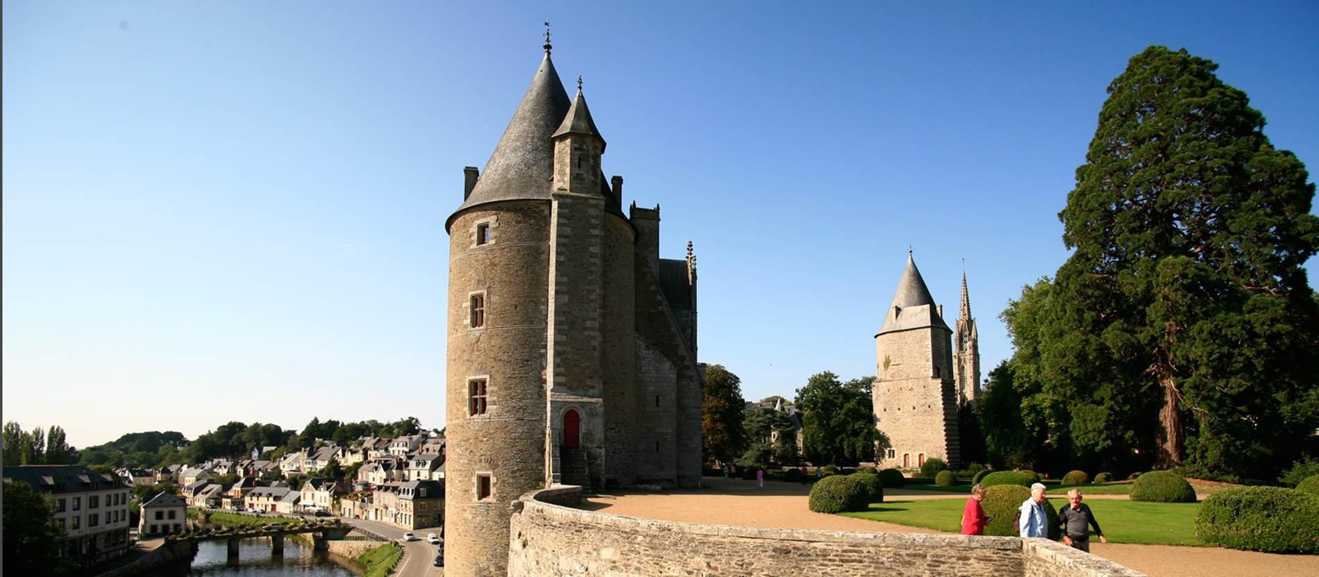 Château et parc de Josselin - Morbihan Bretagne Sud © Château et parc de Josselin