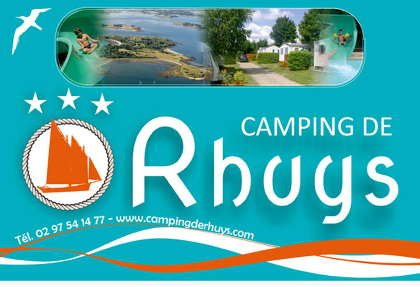 Camping-Rhuys-Theix-Morbihan-Bretagne-Sud ©