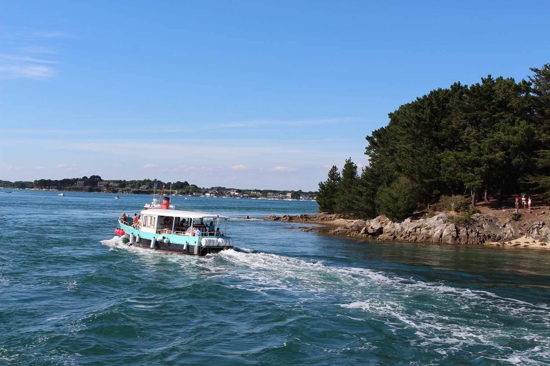 C'est parti pour un tour sur le Golfe du Morbihan ©