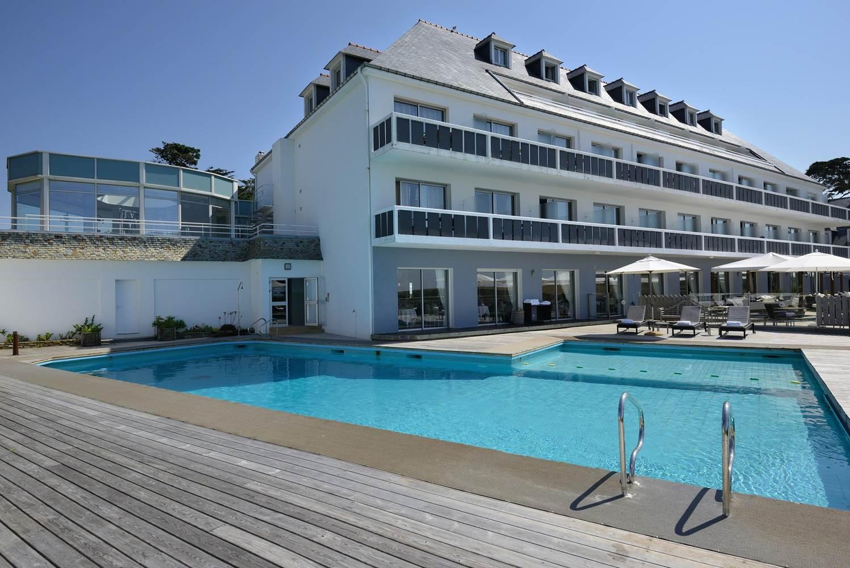Hotel castel clara - Piscine extérieur - Belle Ile Morbihan bretagne sud ©