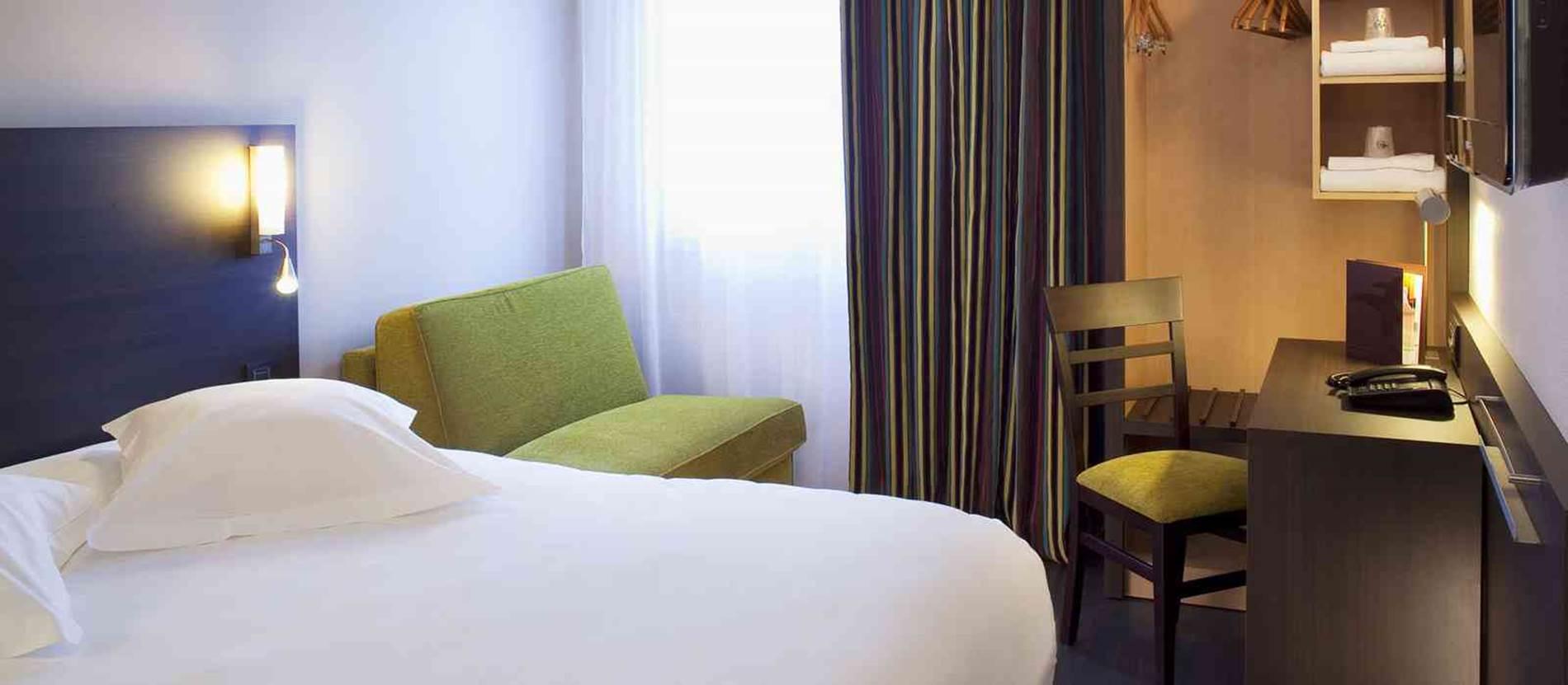 Chambre Supérieure © Hôtel-Escale-Océania-Vannes