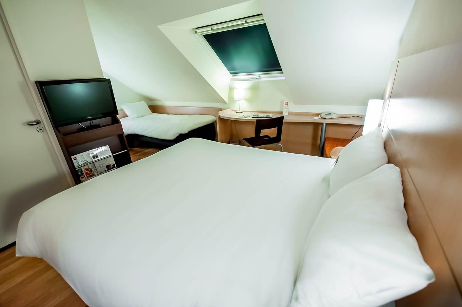 hôtel ibis vannes chambres triples ©