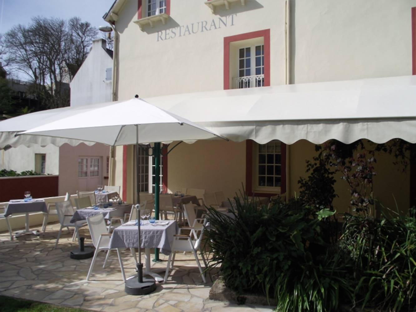 Restaurant le Roz Avel-Sauzon-Morbihan Bretagne Sud © Roz Avel