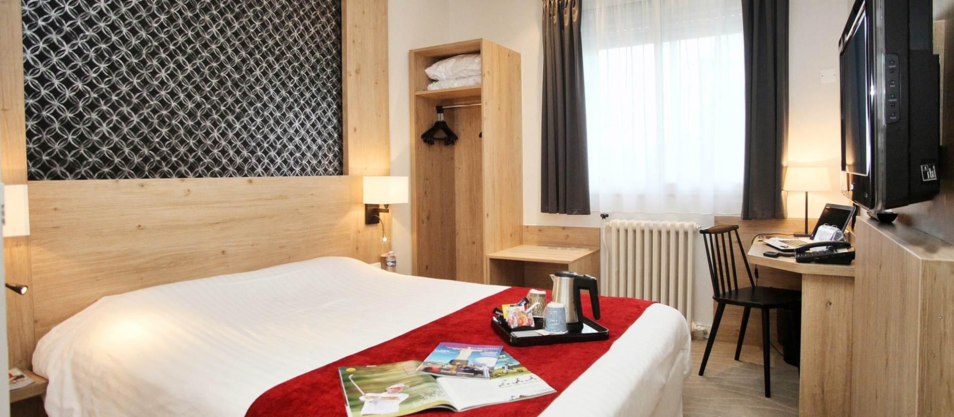 Hôtel-Restaurant-Kyriad-Centre-Vannes-Morbihan-Bretagne-Sud © Hôtel-Restaurant-Kyriad-Centre-Vannes