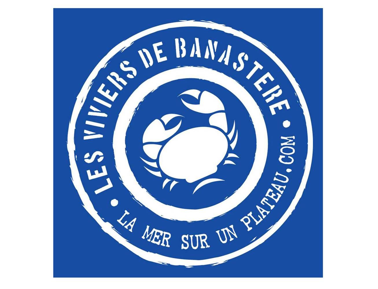 Logo-Les-Viviers-de-Banastère-Le-Tour-du-Parc-Presqu'île-de-Rhuys-Golfe-du-Morbihan-Bretagne sud © Les Viviers de Banastère