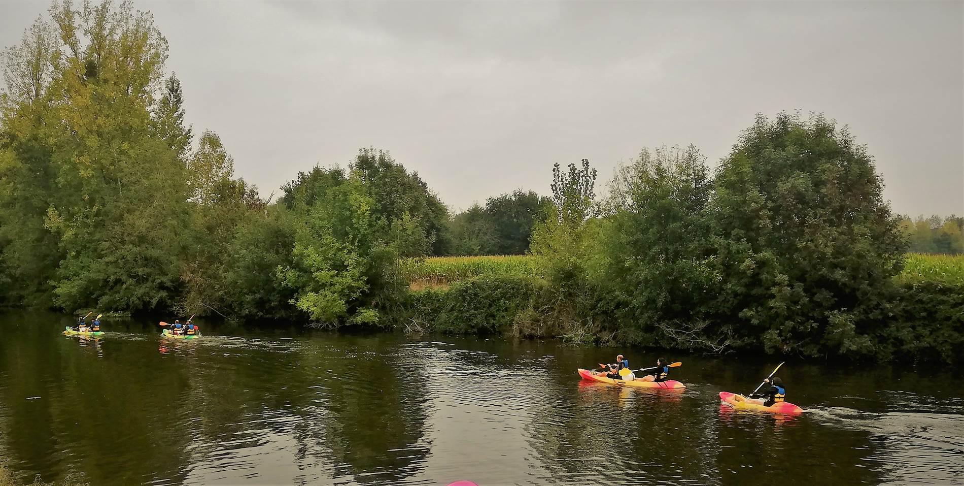 Randonnée kayak ©