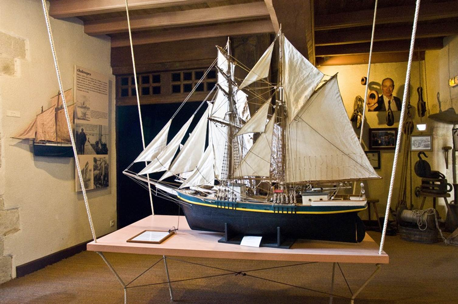 Musée de la Vilaine Maritime La Roche Bernard Morbihan Bretagne Sud © TASB