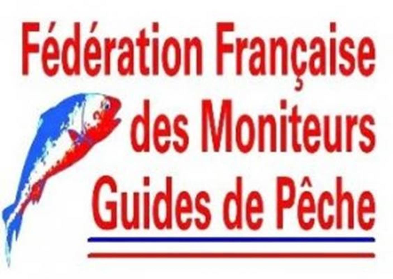 Logo-Fédération-Française-des-Moniteurs-Guides-de-Pêche-Sarzeau-Presqu'île-de-Rhuys-Golfe-du-Morbihan-Bretagne sud © FFMGP