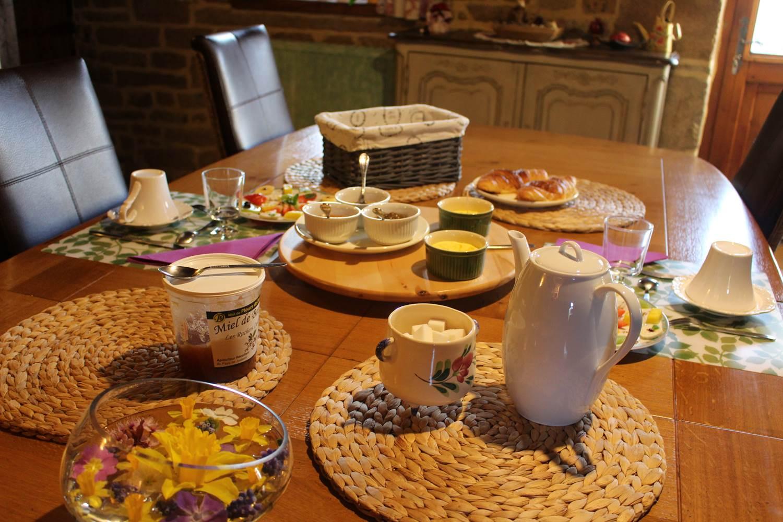 Table du petit déjeuner ©
