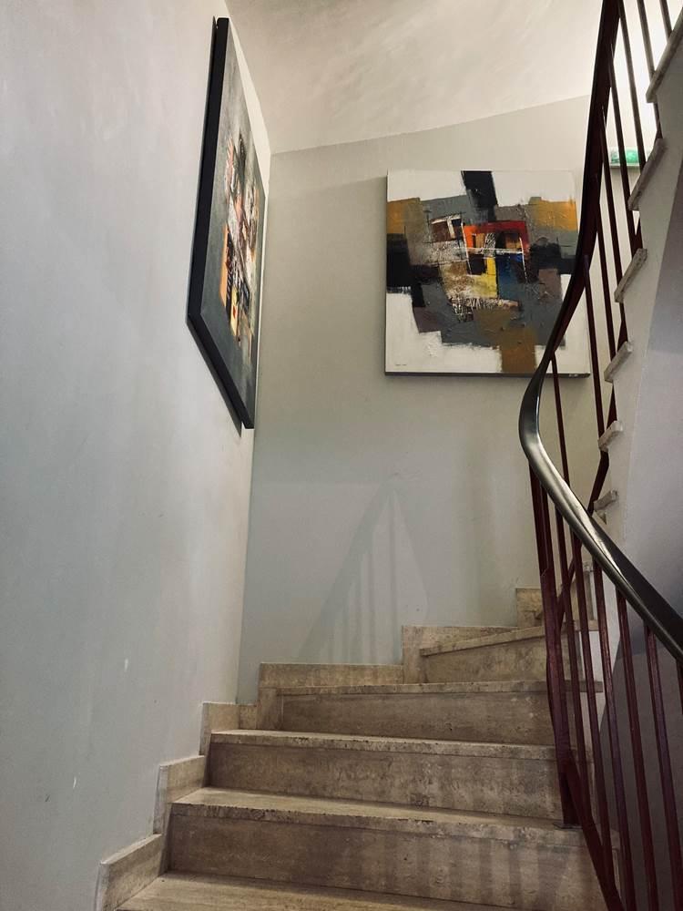 Escalier de l'hôtel ©