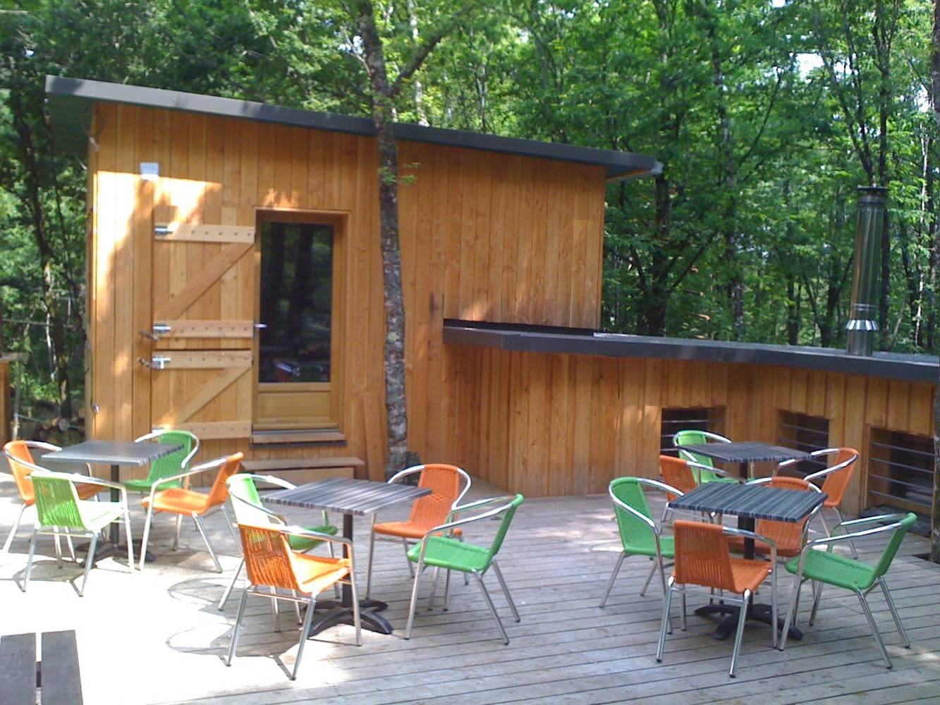Parc Aventure FORET ADRENALINE - Carnac - Terrasses ©