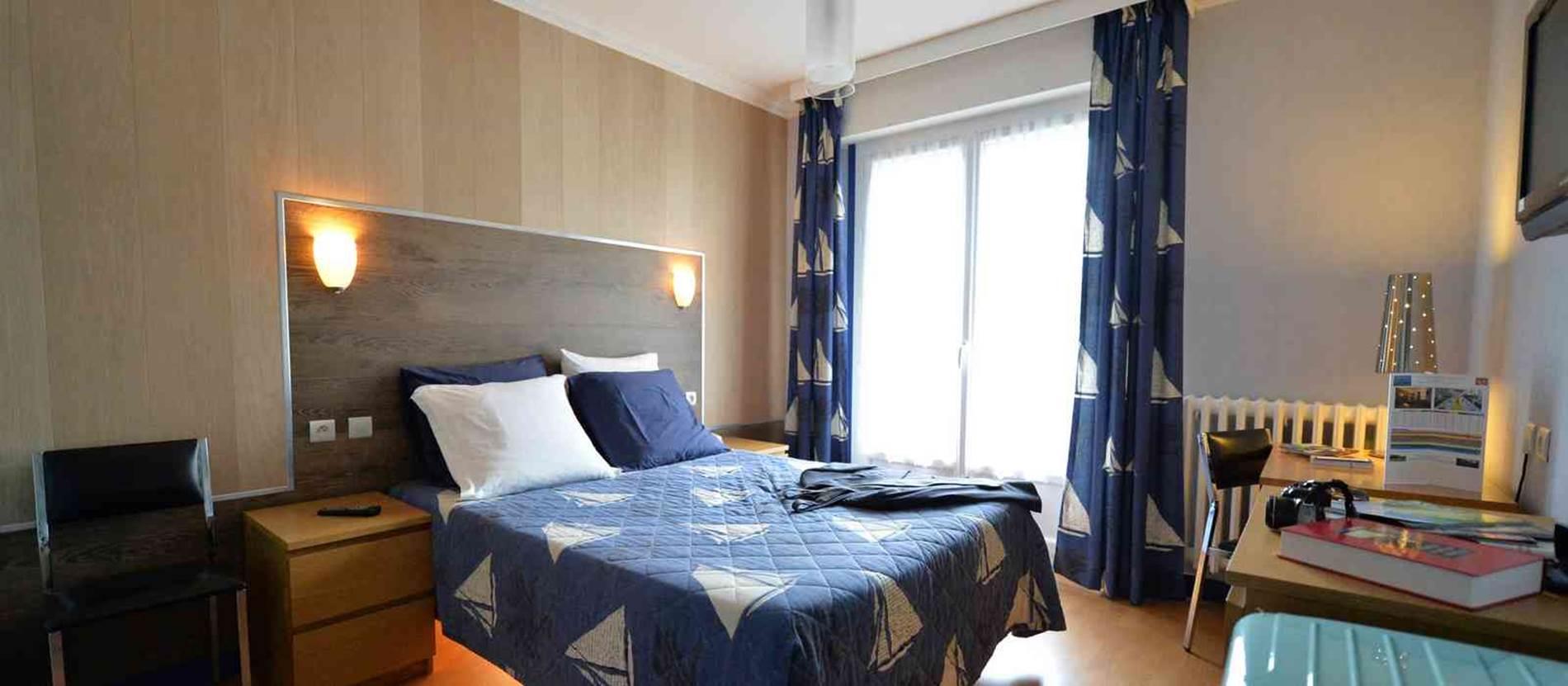 hotel-breizhhotel-crach-Morbihan Bretagne Sud-chambre © hotel-breizhhotel-crach