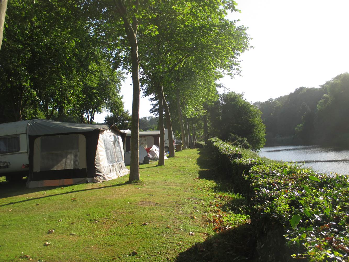 Camping d'Hennebont-Blavet-Lorient-Morbihan Bretagne Sud ©