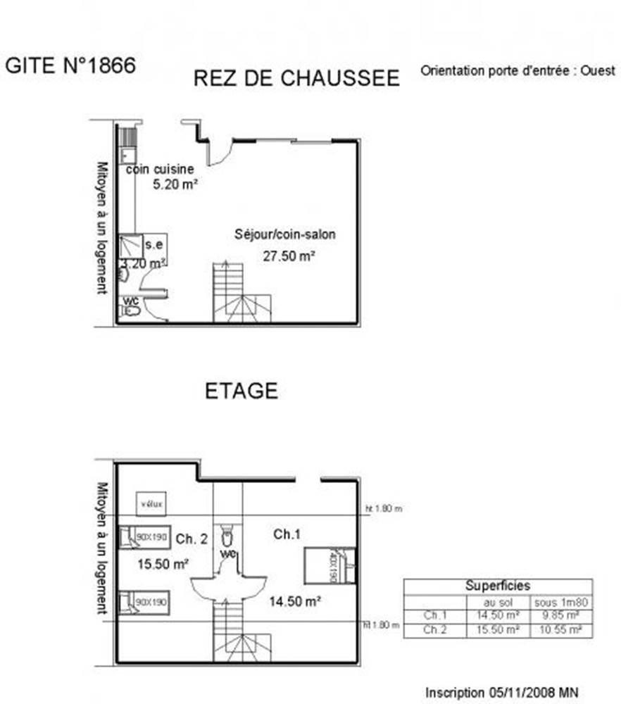 Gîte n°56G1866 – QUIBERON – Morbihan Bretagne Sud © GITES DE France 56