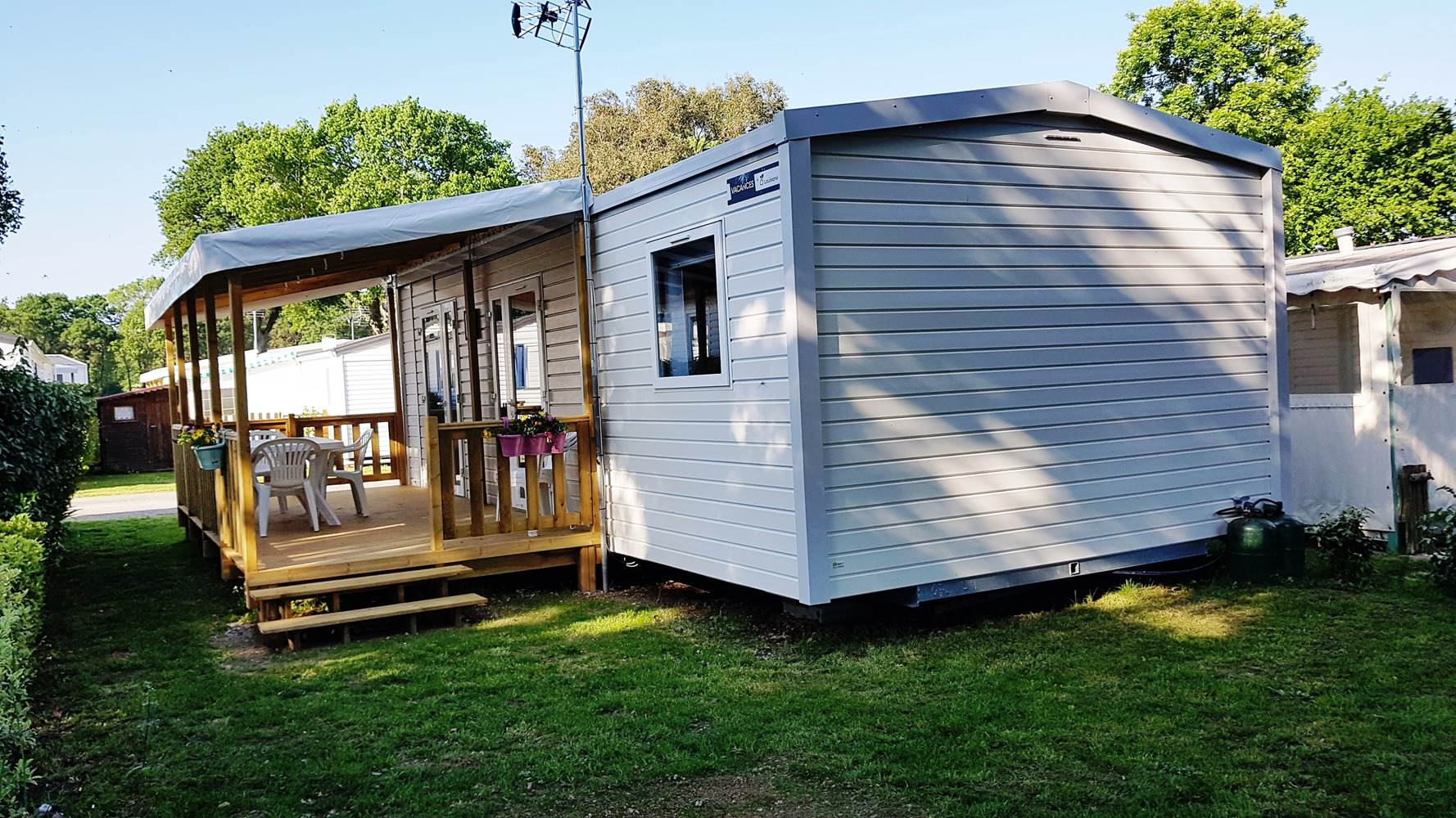 MOBIL-HOME  3 chambres ©