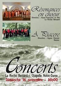 Concerts � la Chapelle Notre-Dame