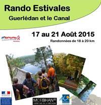 Rando Estivales Guerlédan et le Canal - Saint Aignan