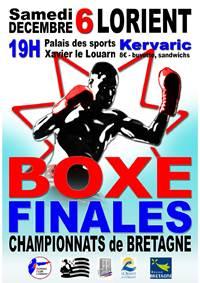 Finales du Championnat de Bretagne de Boxe