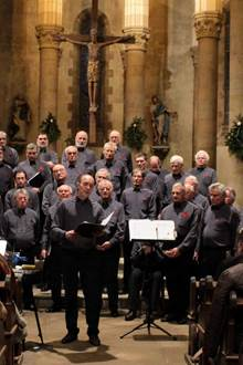 Concert Choeur d'Hommes du Pays Vannetais à Saint-Gildas-de-Rhuys