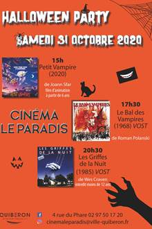 Soirée Halloween au Cinéma