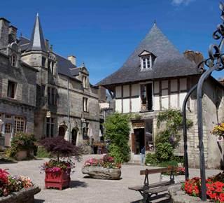 Randonnées à Rochefort-En-Terre, Petite Cité de Caractère
