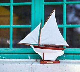 Voiliers de Bassin - constructions de maquettes de sinagos