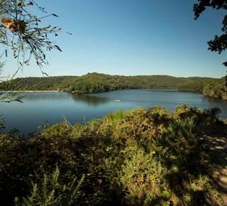 Le tour du Lac de Guerlédan à pied