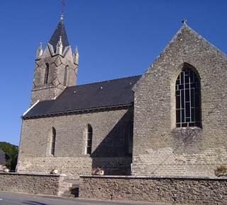 Eglise Saint Méen à Evriguet