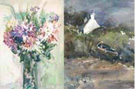 Artiste Peintre Jeannine Morgan-Quiberon