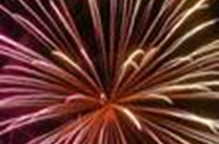 Bal populaire et feu d'artifice billiers