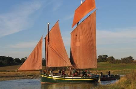 Voiles traditionnelles en Baie de Vilaine