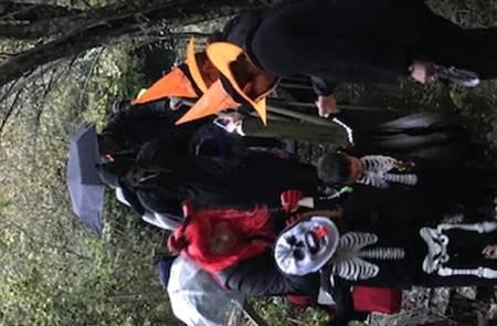 Soirée Halloween, ou les mystères des chemins du bourg de Brec'h