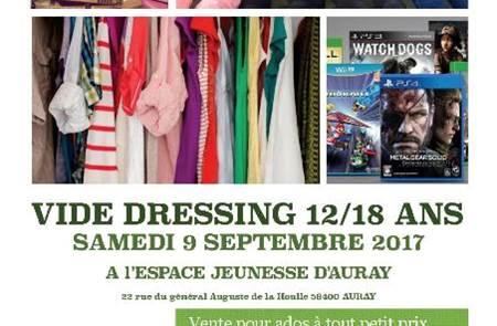 Vide-dressing 12/18 ans - Auray