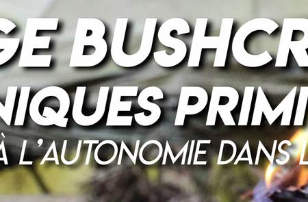Stage Bushcraft et techniques primitives à Ambon