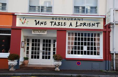 Restaurant Le Victor Hugo, Une Table à Lorient
