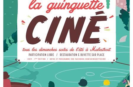 La Guinguette ciné - cinéma sous les étoiles