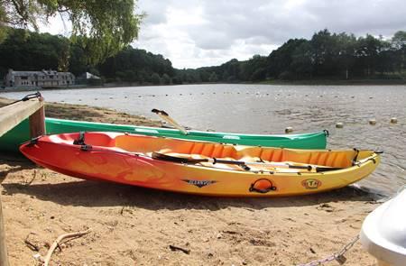 Canoë / Kayak sur l'étang du Moulin Neuf