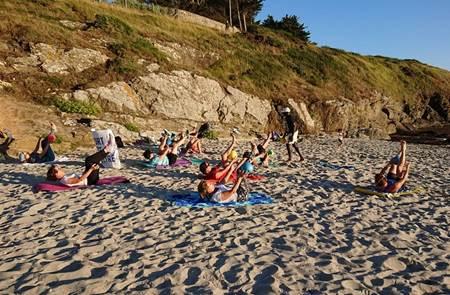 Cours de stretching - Sport été bien-être
