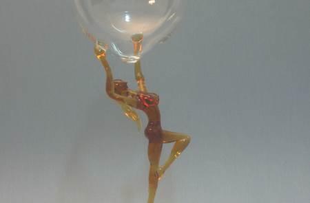 L'art verrier - Fileur de verre